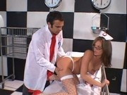 Tory Lane in Nurse Costume