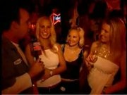 Girls flashing at the party
