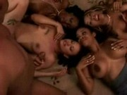 Obsession,Ayana Angel,and others in a wild black orgy