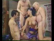 Elodie cherie - Dans le cul Lulu - foursome