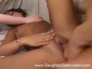 Two daughters fucked hard as hell