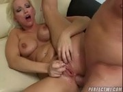 This horny blonde Slut likes to get fucked in the Ass - Porn