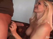 Horny cougar totally tabitha takes it up the ass