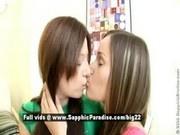 Amanda and Ashlie, young schoolgil lesbian babes have lesbian sex