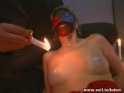 Bizarre Wax BDSM from Germany