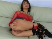 Naudia Nyce Gets Her Ass Fucked And Creamed - Butt Fetish