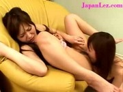 Japanese Asian Girl Makes Friend Cum Again and Again