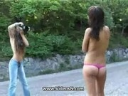 Russian Young Teen for the Camera
