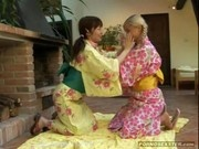 Asian Teen and Her Friend Have Lesbian Toy Fun
