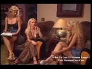 Krystal Steal with 2 lesbian chicks