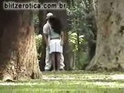 Spycam - exhibitionism in public, lifting the skirt of his g
