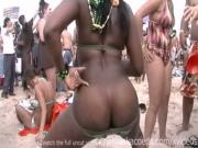 beach party in texas with girls flashing boobs at spring break