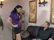 Sexy office slut persia pele nailed by colleague