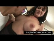 Big titty milf taking black dick in her