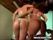 A Big Black Cock For Vanessa & Carol - Brazil Bang