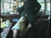 Blowjob on a Bus