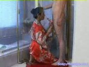 Asian soapy massage