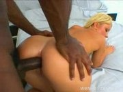 Sissy Sweet Takes Huge Black Cock Down Her Ass