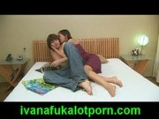 Cute teen girl Ivana Fukalot seduces her boyfriend