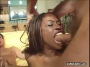Monique loves to get double penetrated - Anal Cum Junkies