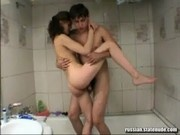 Russian Model Masha Fucked in the Bath Tub