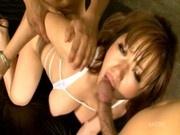 Syuka Neria big tits japanese babe ganged