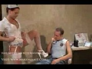 Nurse Katja Kassin Gets Her Holes Filled Part1