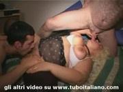 Italian BBW Sisters Lesbo Cumswapping - Sorelle bevono tutto e slinguazzano
