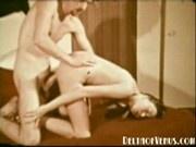 John Holmes fucks a sexy hairy girl - 1970s Vintage