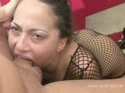 Tiny Teen Veronica Jett Surprises Everybody When She Deepthroats Huge Cock