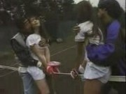 asian playing tennis then fucked