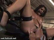 Tied up squirter