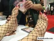Katja Kassin - Sexy Pornstars In A Convention