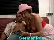 Horny granny fucks younger guy
