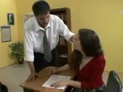 Horny student charlotte vale reamed in the behind