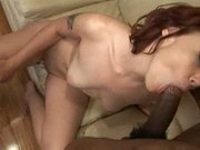 Redhead frankie vargas knows what to do with bbc