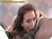 Chocolate Dick Swallowing