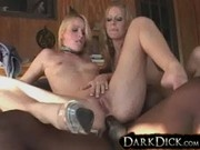 Sharon Wild and Layla Leighton Get Pounded By Hung Black Dud