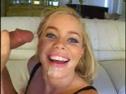 Hot blonde dp