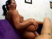 Sandra Romain Gets Anal On The Couch