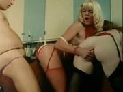 Danielle Martin 3some - classic porn (amazing blonde!)
