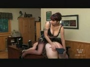 Corset Office Spanking