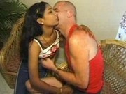 Indian girl fucking with foreign tourist in hotelroom part 1