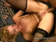 Blonde College Hottie Olivia Saint Humps Black Cock On The Couch Loving The Feel