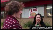 Amateur takes money for sex
