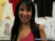 Girls flash for cash