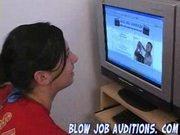 Charlie at Blowjob Audition