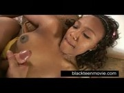 Ebony teen young slut fucking white dick