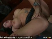 Slut gets fucked at work