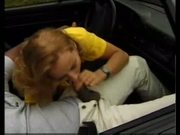 German babe sex on a porsche car and windshield cumshot